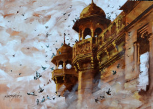 02-sandeep-chhatraband-banaras-acrylic-on-canvas